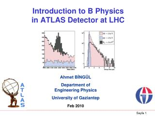 Introduction to B Physics  in ATLAS Detector at LHC