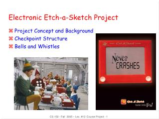 Electronic Etch-a-Sketch Project