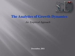 The Analytics of Growth Dynamics