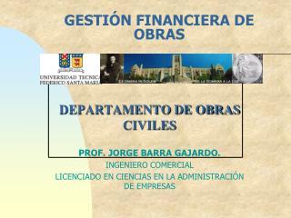 GESTIÓN FINANCIERA DE OBRAS