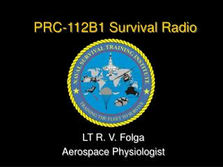 PRC-112B1 Survival Radio