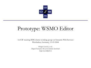 Prototype: WSMO Editor