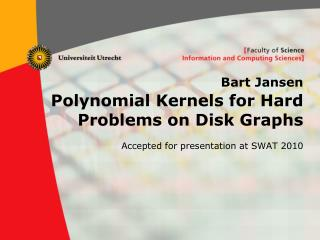 Bart Jansen Polynomial Kernels for Hard Problems on Disk Graphs