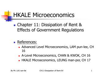 HKALE Microeconomics