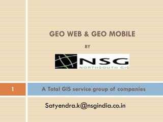 A Total GIS service group of companies