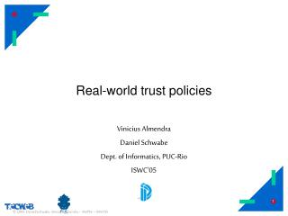 Real-world trust policies