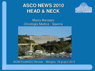 AIOM PostASCO Review  - Bologna, 19 giugno 2010