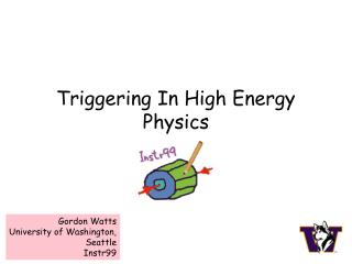 Triggering In High Energy Physics
