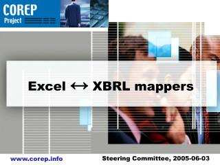 Excel  ?  XBRL mappers