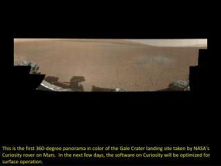 Mars rover sends incredible photos