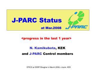 J-PARC Status