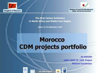 The First Carbon Exhibition  in North Africa and Middle East Region  Jerba, 22-24 September 2004
