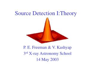 Source Detection I:Theory