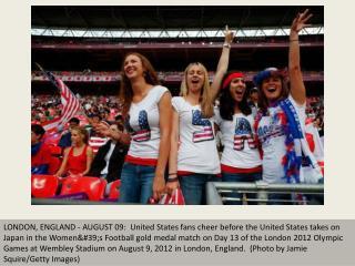 Fan fever at London Olympics