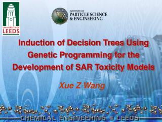 Induction of Decision Trees Using Genetic Programming for the Development of SAR Toxicity Models
