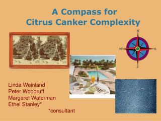 A Compass for    Citrus Canker Complexity