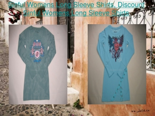 Sinful Womens Long Sleeve Shirts