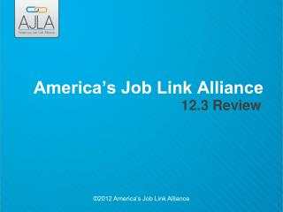 America's Job Link Alliance