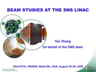 BEAM STUDIES AT THE SNS LINAC