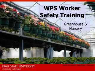 WPS Worker Safety Training