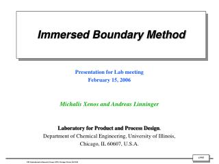 Immersed Boundary Method