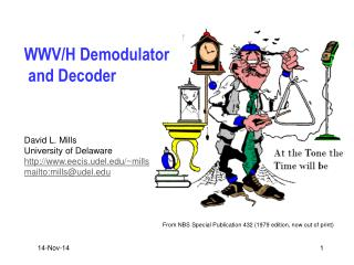 WWV/H Demodulator  and Decoder