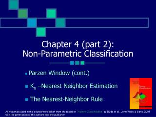 Chapter 4 (part 2): Non-Parametric Classification