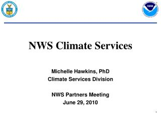 NWS Climate Services