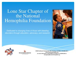 Lone Star Chapter of the National Hemophilia Foundation