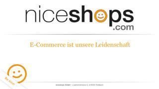 E-Commerce ist unsere Leidenschaft