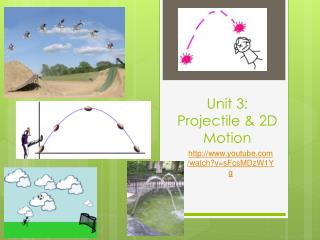 Unit 3:  Projectile & 2D Motion