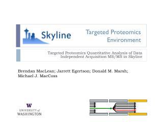 Targeted Proteomics Environment
