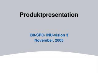 Produktpresentation