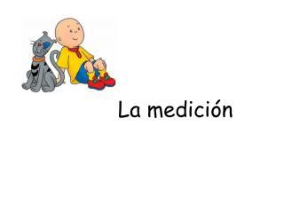 La  medici ó n