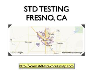STD Testing Fresno