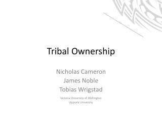 Tribal Ownership