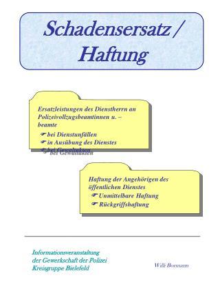 Informationsveranstaltung der Gewerkschaft der Polizei  Kreisgruppe Bielefeld