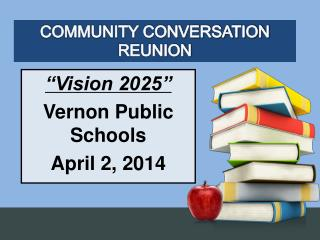 COMMUNITY CONVERSATION REUNION