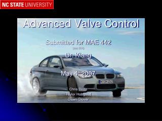 Advanced Valve Control