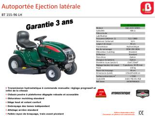 Autoport�e Ejection lat�rale BT 155-96 LH