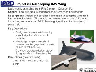 Project #3 Telescoping UAV Wing