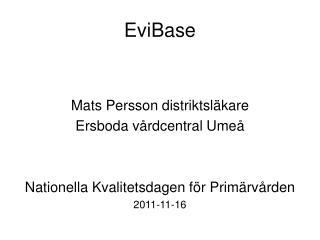 EviBase