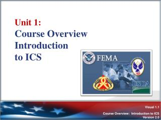 Unit 1:  Course Overview Introduction  to ICS