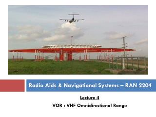 Radio Aids & Navigational Systems � RAN 2204
