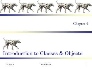 Introduction to Classes & Objects