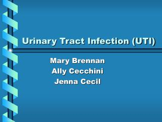 Urinary Tract Infection (UTI)