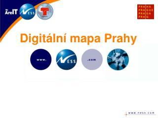 Digitální mapa Prahy