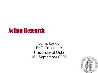 Action Research�
