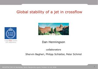 Global stability of a jet in crossflow