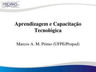 Aprendizagem  e Capacitação Tecnológica